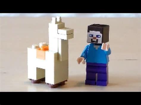 tutorial lego minecraft lego minecraft llama tutorial youtube