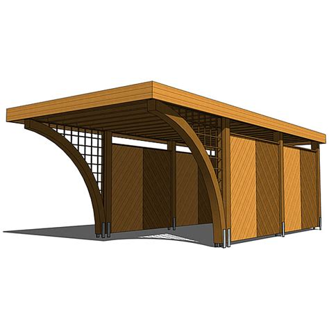 CarportC01 3D Model   FormFonts 3D Models & Textures