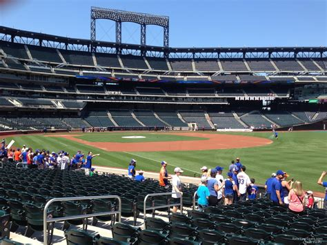 citi field section 107 rateyourseats