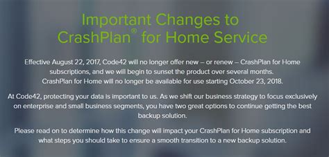 crashplan ir 225 descontinuar oferta de backup tugatech
