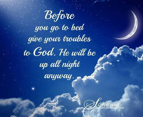 prayer before you go to bed give your troubles to god pictures photos and images for