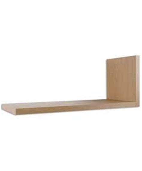 l shelf l shaped shelves pale oak stylish storage
