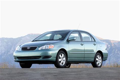 2005 Toyota Corolla Recalls Toyota Recalls 1 1 Million Corolla Matrix Models Gm