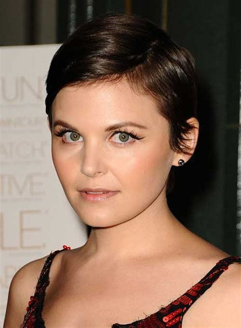 pixie cut with center part short sassy summer styles we think are suite a suite