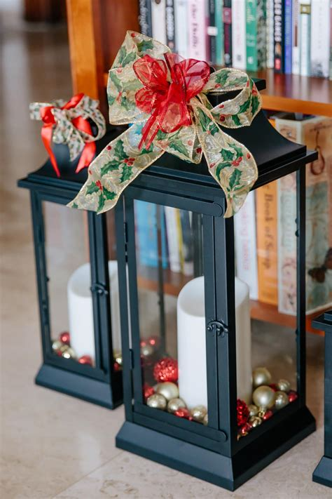 how to decorate christmas lanterns decorating large lanterns for www indiepedia org