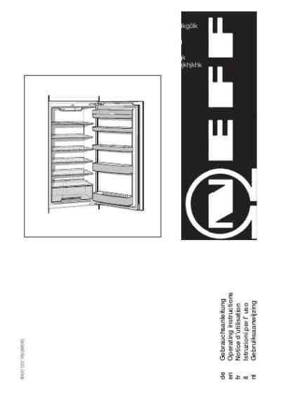 schrank für ordner neff ke 235 a k 6604 x6k 195 188 hlschrank pdf anleitung f 195 188 r
