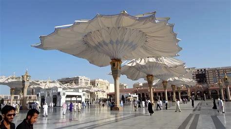 Umbrella Madinah Original Import Saudi al masjid nabawi check out al masjid nabawi cntravel