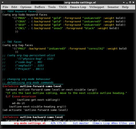 emacs24 color themes color theme dark emacs shout wid suvayu