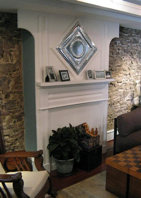 diy fireplace mantel realize your the fireplace