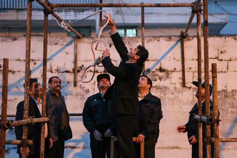 film semi iran iran publicly hangs man for rape murder of seven year old