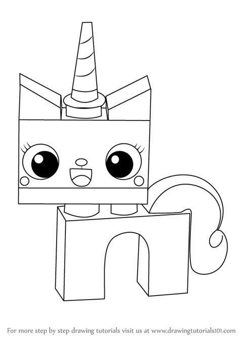 princess unikitty coloring pages learn how to draw princess unikitty from the lego