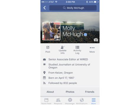best biography for facebook profile your facebook profile is about to get gif like photos wired