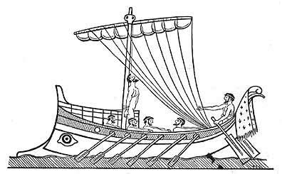 how to draw a greek boat odysseus my hero