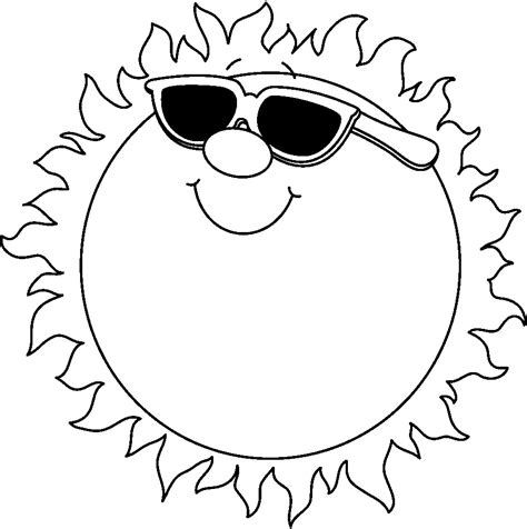 Sun Outline Clip by Sun Outline Clipart Clipart Best Cliparts Co