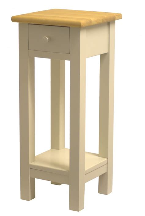 Bedside Table With Drawer And Shelf by L Bedside Table With Drawer And Shelf
