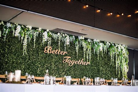Wedding Backdrop Melbourne by Hire Flower Wall Bridal Backdrop 6m Wedding Hire