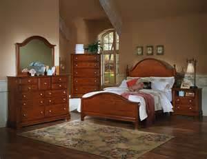 Cherry Bedroom Dresser Vaughan Bassett Cottage Bb19 Cherry Bedroom