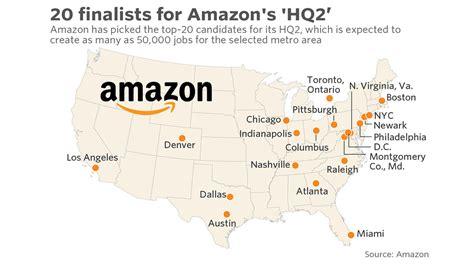 amazon hq2 amazon com s hq2 finalists include new york chicago l