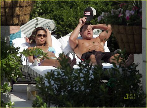 Minnillo And Nick Lachey Hit The Pool by Minnillo Nick Lachey Are Pool Pals Photo