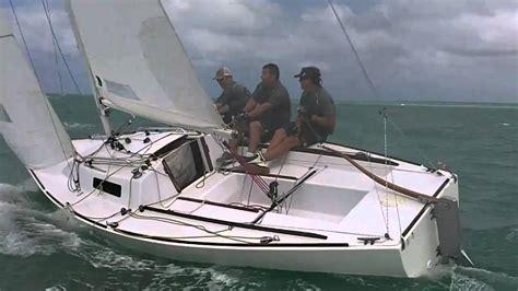 sailing boat j22 j22 racing cayman islands youtube
