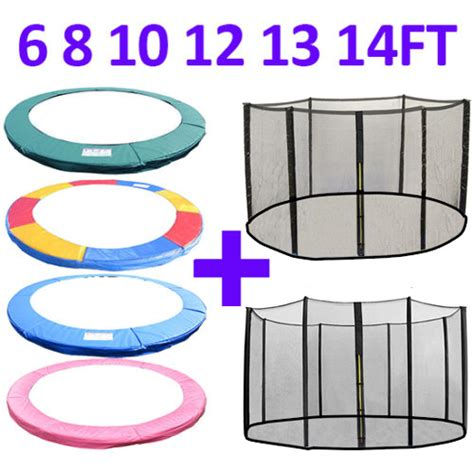 10 troline with safety net mat pad troline replacement pad padding safety net enclosure 6