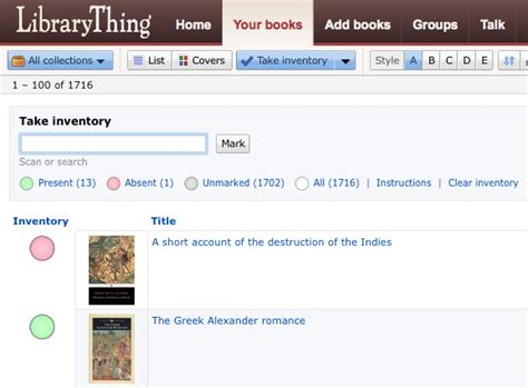 Library Thing by Librarything Driverlayer Search Engine