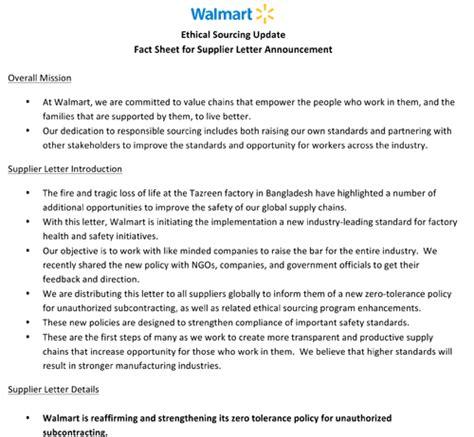 Complaint Letter Sle To Walmart Walmart Complaint Letter Myideasbedroom
