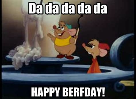 Disney Birthday Meme - gus gus quot uh happy berfday quot cinderella party ideas