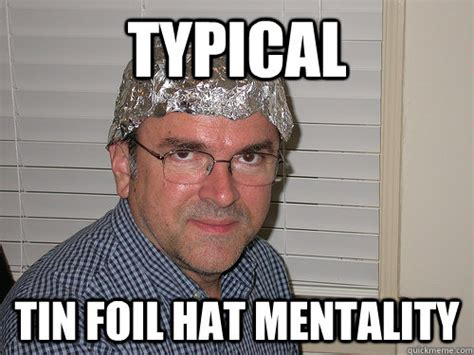 Tin Foil Hat Meme - did apple get exactly what it wanted for users in google
