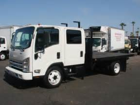Isuzu Flatbed Truck For Sale Used 2009 Isuzu Nqr Flatbed Truck For Sale In Az 1279