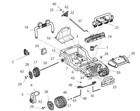 Jeep Wrangler Parts Diagram Power Wheels Diego Jeep Wrangler Tru Parts