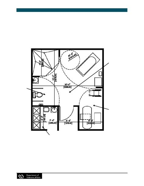 Nursing Home Design Guide Figure 3 13 Bathing Suite With Shower Tub And Sle Lift