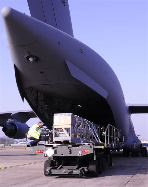 ams air freight handlers  cargo mission moving