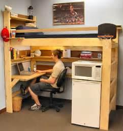Loft Your Bed College College Loft Bed Plans Bed Plans Diy Blueprints