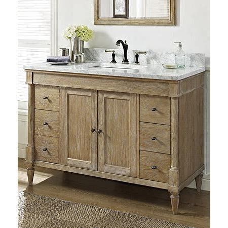 weathered bathroom vanity fairmont designs rustic chic 48 quot vanity weathered oak
