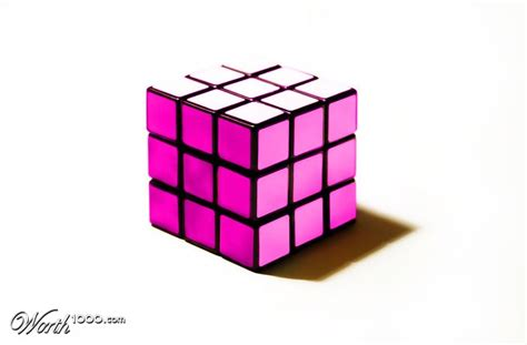 Cubes Pink pink rubik s cube the worley gig