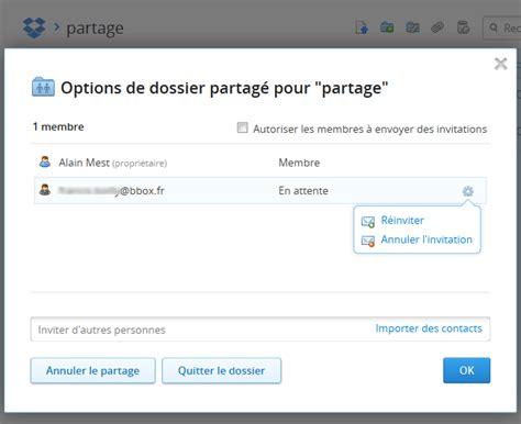 dropbox options drobpox partage de fichiers sur internet aidewindows net