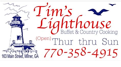 photos for tims lighthouse seafood buffet and country