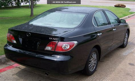 2004 lexus es330 sport design 2004 lexus es 330 sport design edition black with