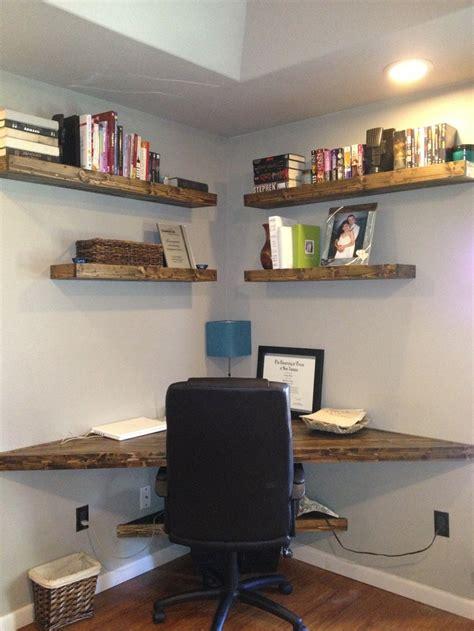 desk with shelves on top best 25 floating corner desk ideas on pinterest corner