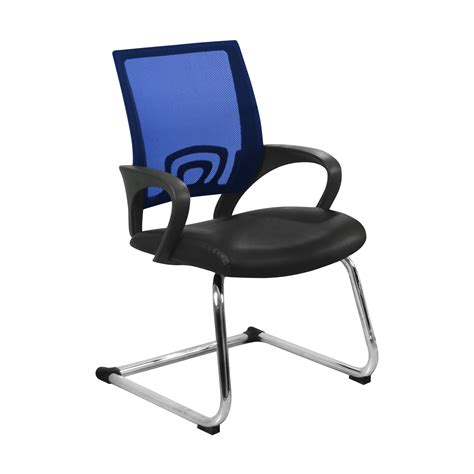 furniture office chairs blue conference office chair