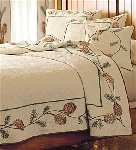 Pine Cone Bedding Set Pine Cone Quilt And Accessories Pine Cones Pinterest Quilt Accessories And Ps