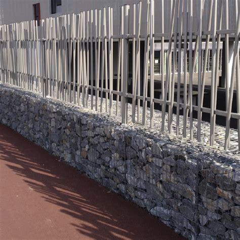 Murs De Cloture by Murs Gabions Avec Cl 244 Tures Associ 233 Es