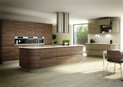 modern walnut kitchen cabinets modern walnut cabinets kitchen pinterest