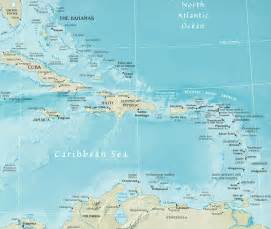 Caribbeans Map by Caribbean Countries Viewing Gallery