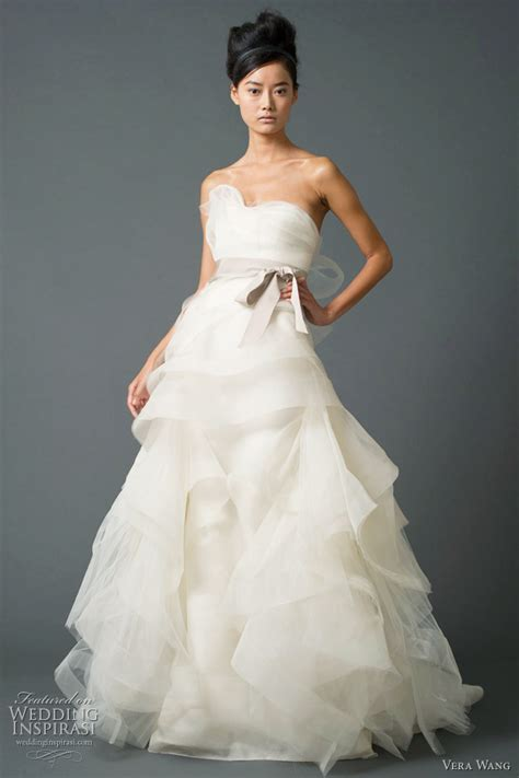vera wedding dresses fall 2011 bridal collection