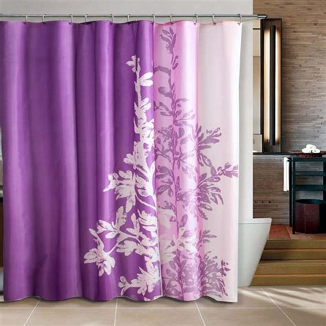 purple shower curtain liner the best quality of shower curtains liner homesfeed