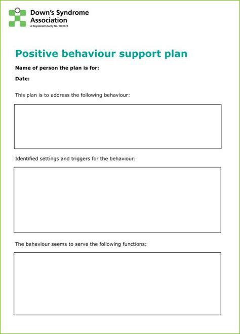 it support plan template behaviour guidance plan template choice image template