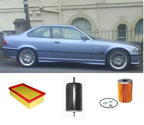 Corner L Bmw 3 Series E36 1991 1998 Clear Merk Depo kit6200 filter kit bmw 3 series 318is 318is e36 1 8l m40b18 04 1991 1998 fuel air filter