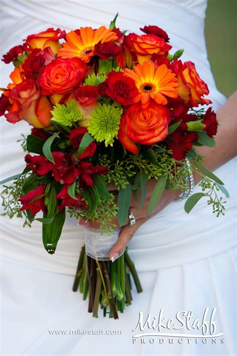 fall flowers for wedding rustic wedding bouquets with sunflowers bouquet idea